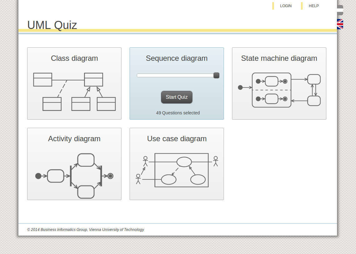 Help quiz overview ccuart Choice Image